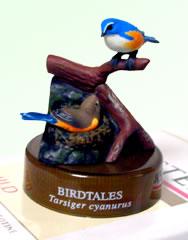 天然水の鳥