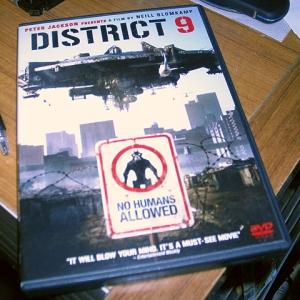 District 9 の DVD