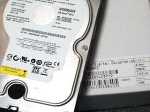 500GB のハードディスク買ったよ