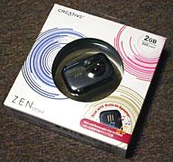 ZEN STONE 2GB with built-in speaker